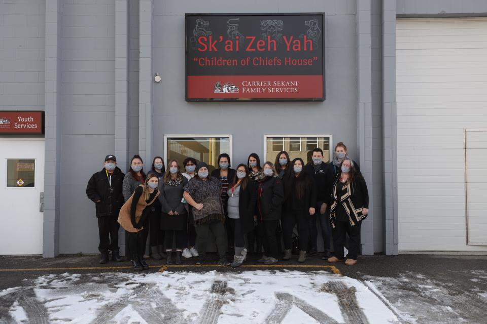 Sk'ai Zeh Yah Youth Centre Grand Opening Celebrates National Child Day