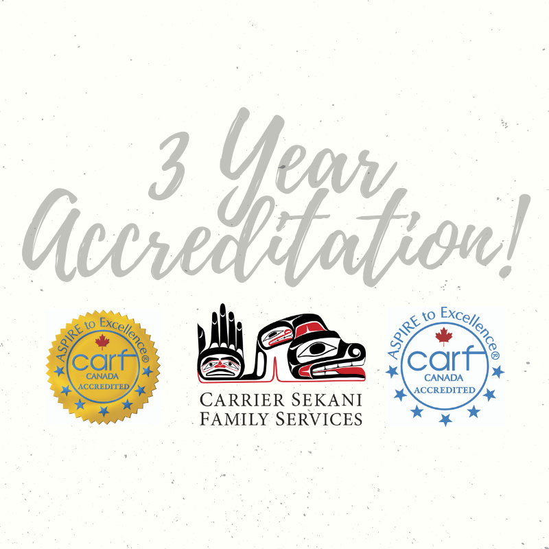 Three Year CARF Accreditation Granted to CSFS!