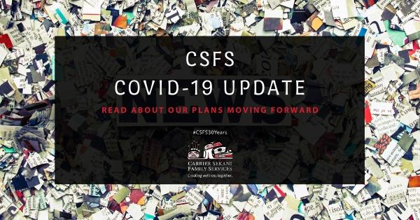 What's Ahead for CSFS amidst COVID-19?