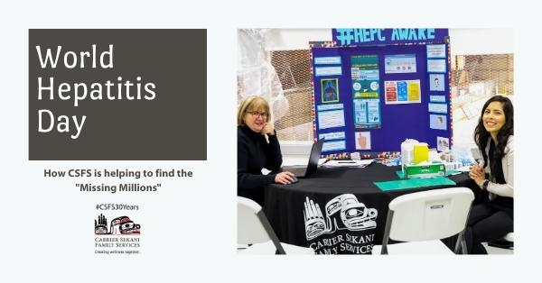 """CSFS Lending its Hand in """"Finding the Missing Millions"""" for World Hepatitis Day"""
