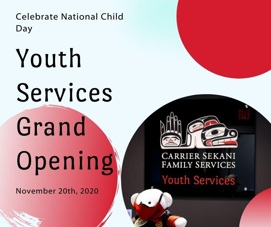 Announcing the Prince George Youth Centre Grand Opening