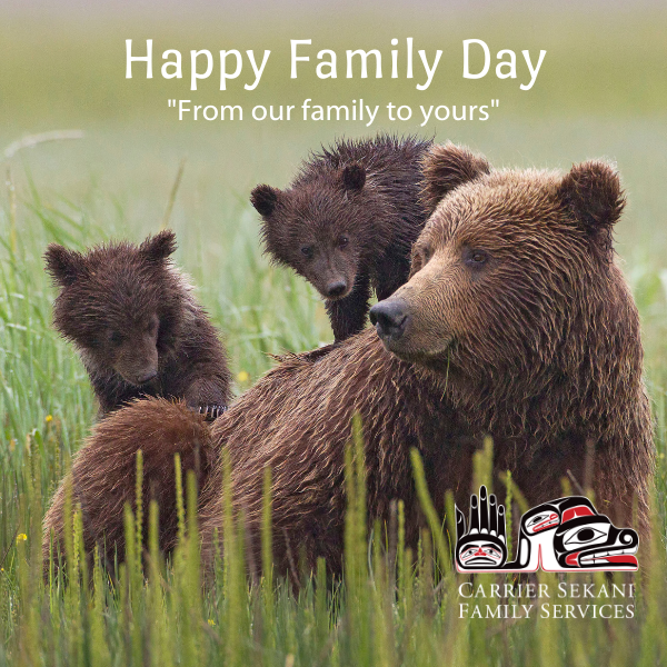 Happy Family Day - From Our Family to Yours