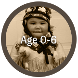 Age 0 to 6